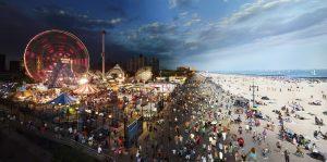 هنرمند خلاقی که شب و روز را در یک عکس به تصویر می کشد